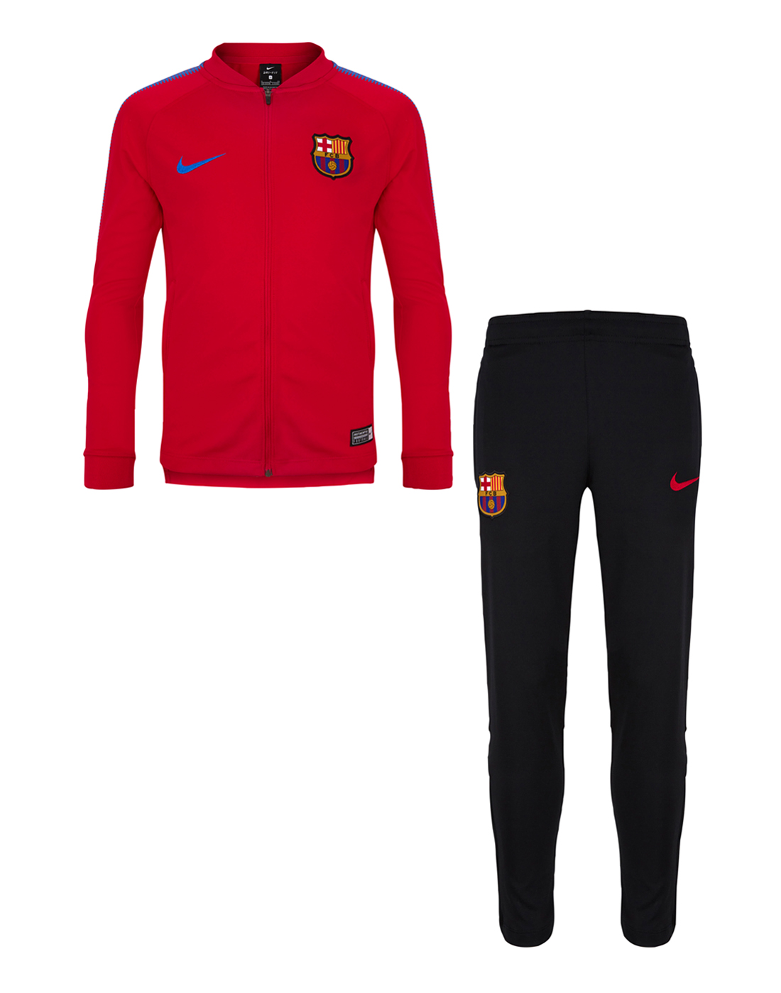 3022187350 Nike Kids Barcelona 17/18 Tracksuits   Life Style Sports