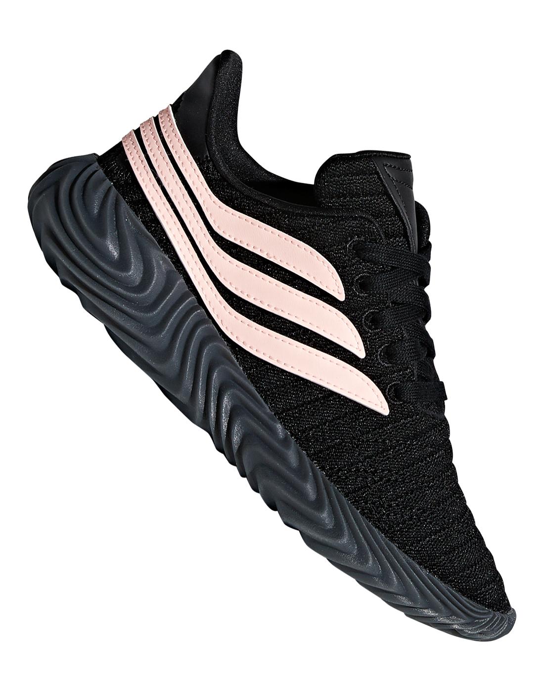Kids Black adidas Originals Sobakov