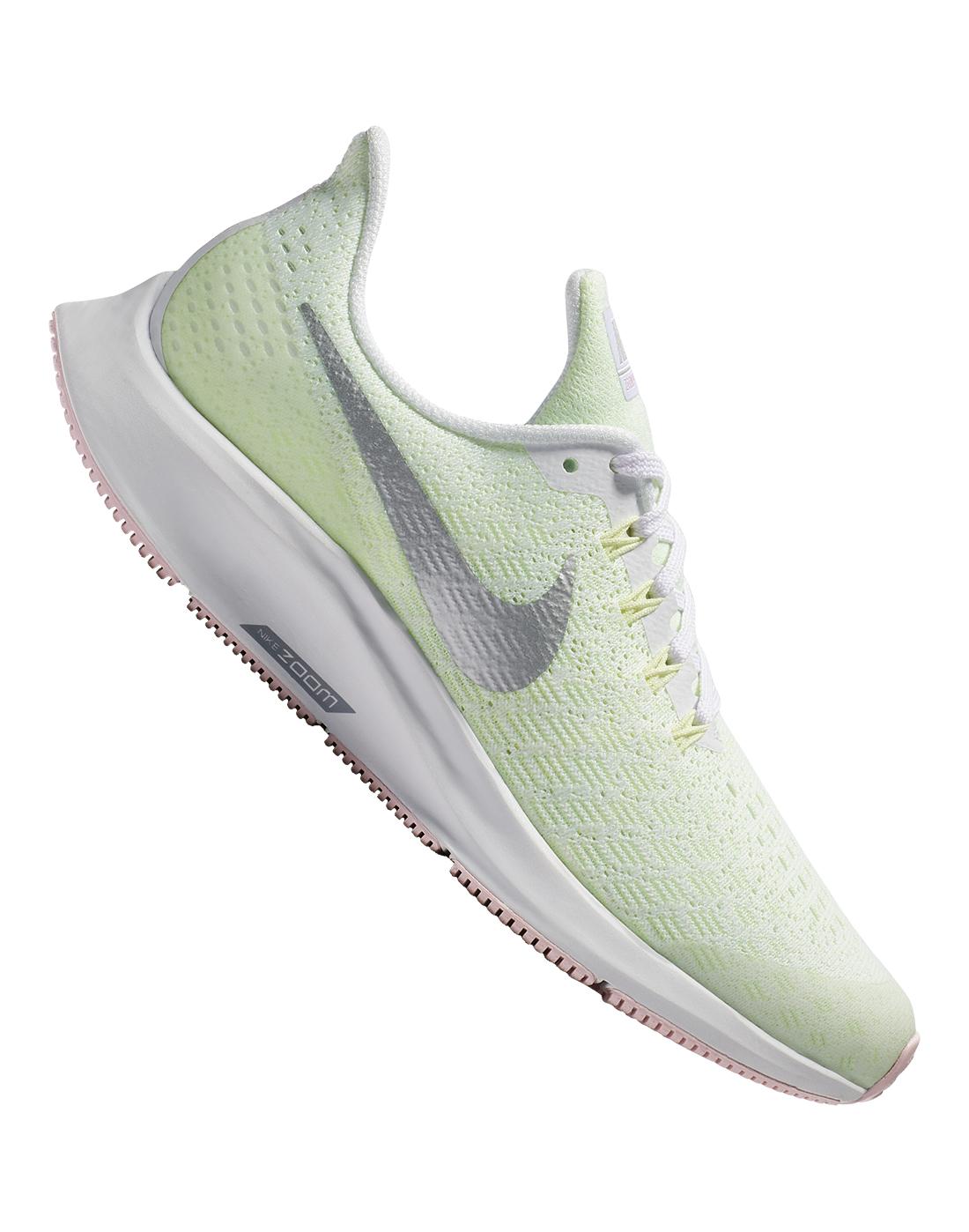 6fc44e764 Girl's Mint Green Nike Pegasus 35   Life Style Sports