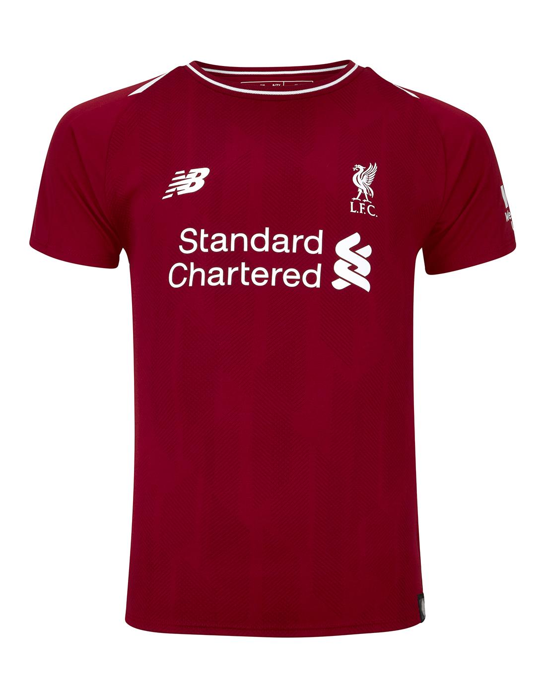 7f5637717d5 ... Kids Liverpool Home 18 19 Kit ...