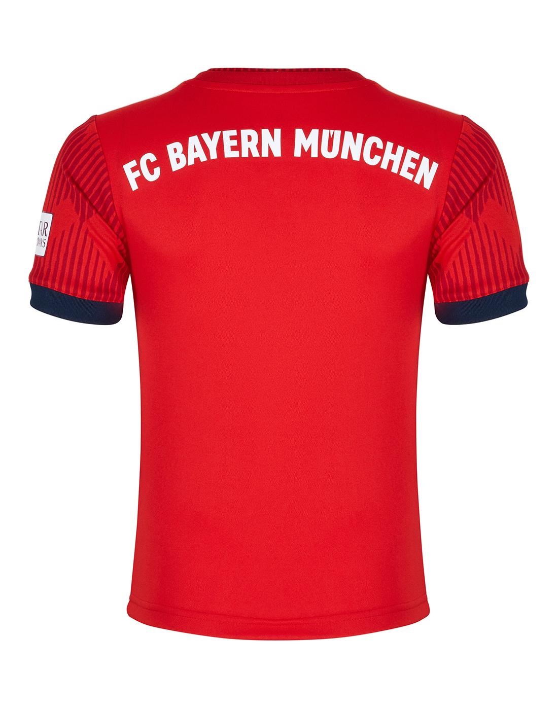 18c4976be52 ... Kids FC Bayern 18 19 Home Jersey ...