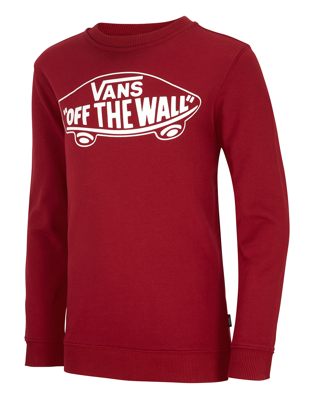 845183e699e6 Kid s Red Vans  Off The Wall  Sweatshirt