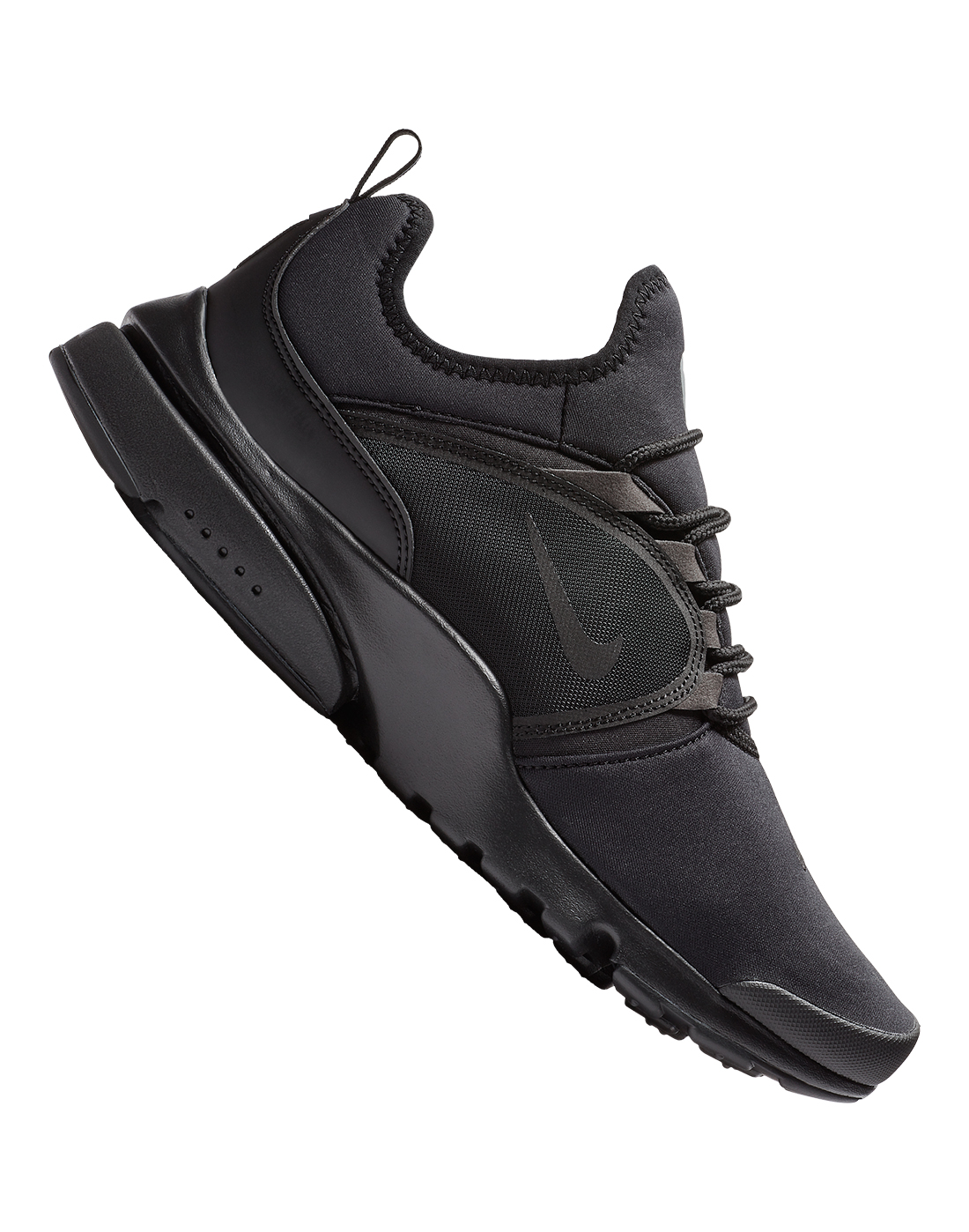 Triple Black Nike Presto Fly World