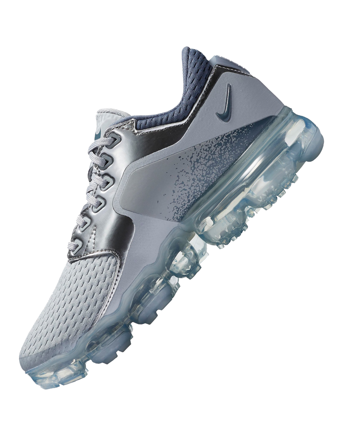 Kids Nike VaporMax Mesh   Grey   Life