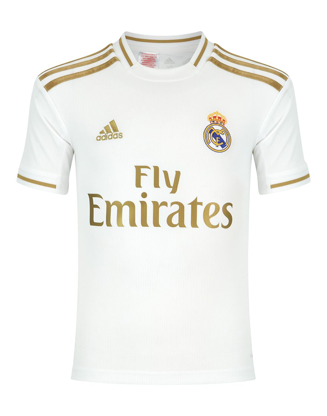 best cheap edda8 e3e44 Kids Real Madrid 19/20 Home Jersey
