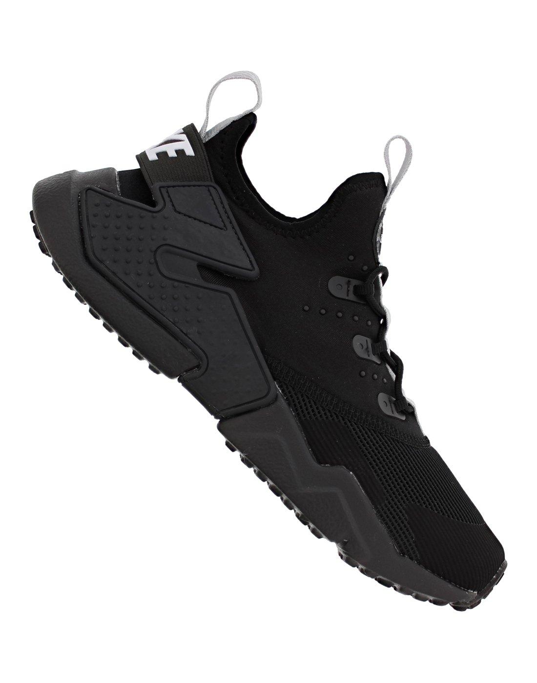 Older Boys Nike Huarache Drift   Black