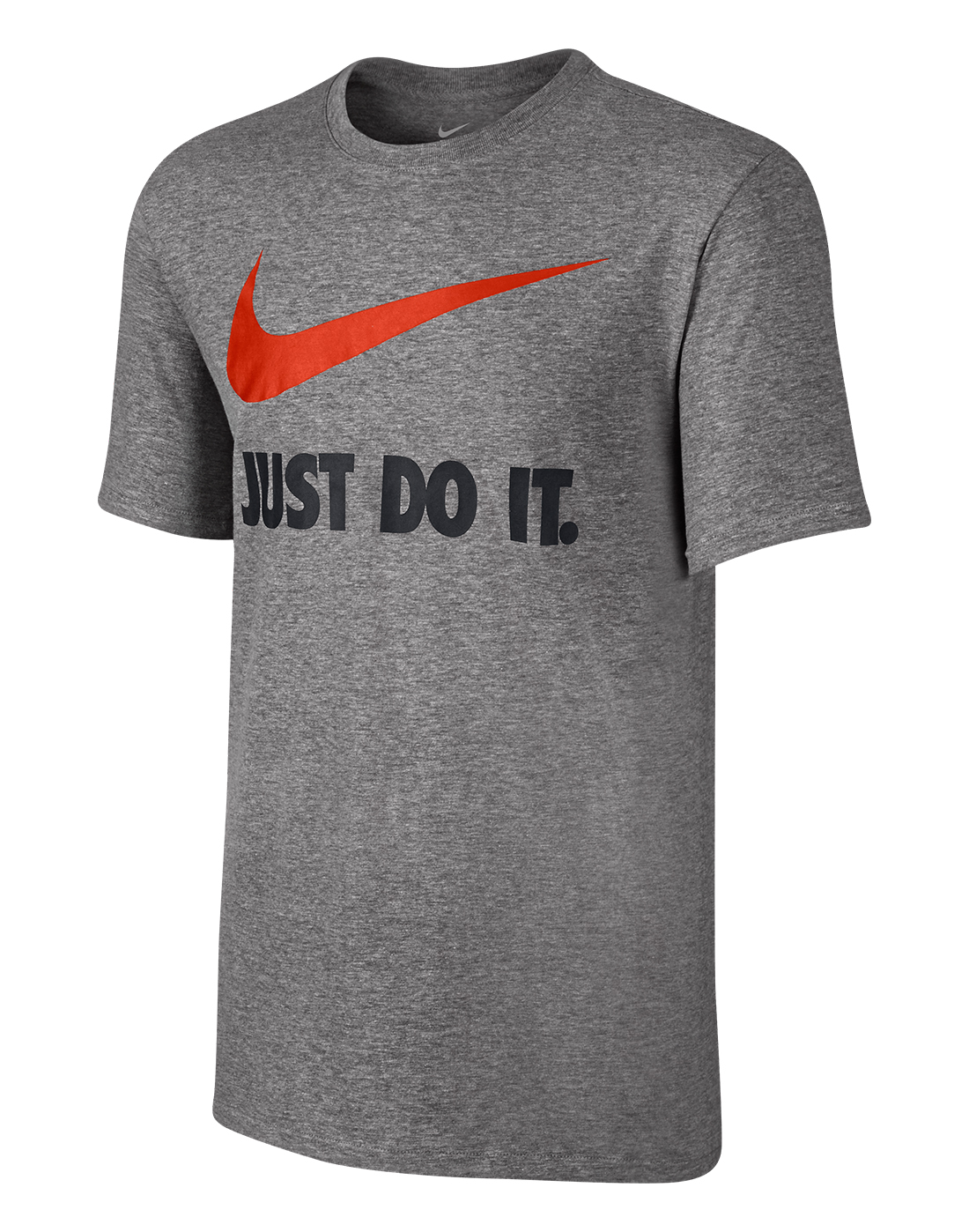 Nike T Shirt Just Do It Men's Grey ...
