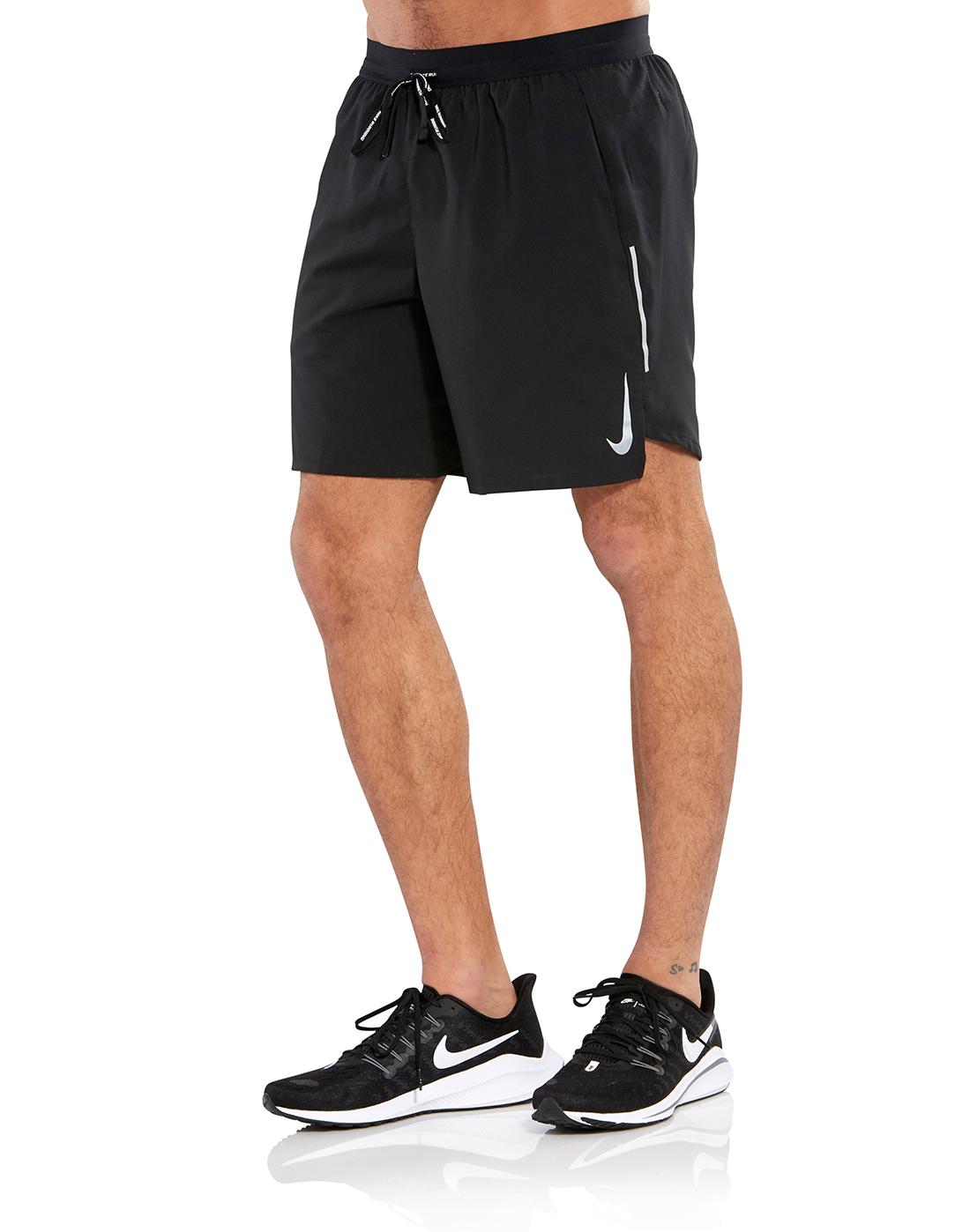 8b70034336a2 Men s Black Nike Flex Stride Running Shorts