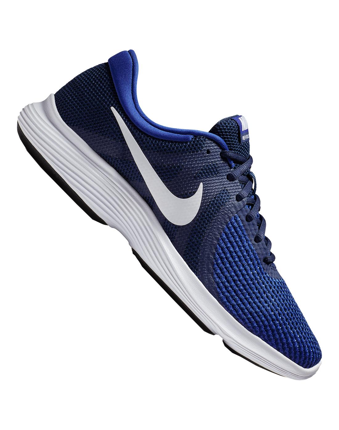 e4142458ab2 Men s Blue Nike Revolution 4