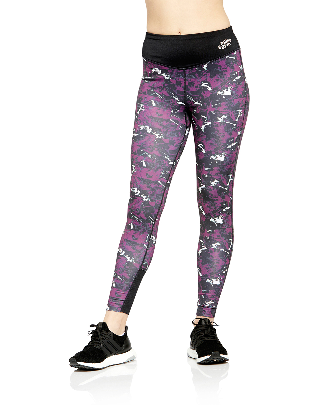 1bc0b31a78255 millie & gym Womens Printed Legging | Life Style Sports