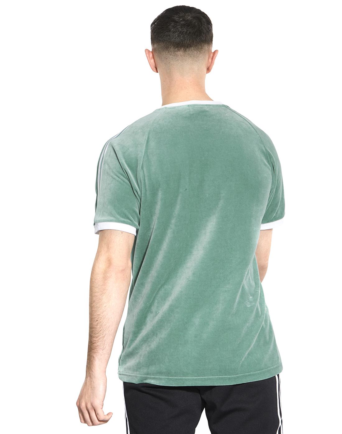 2aeedb86 Men's Green Cozy adidas Originals T-Shirt | Life Style Sports