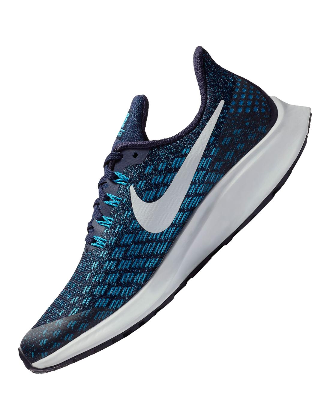 finest selection 7df34 e92b2 Boys Nike Pegasus 35   Blue   Life Style Sports