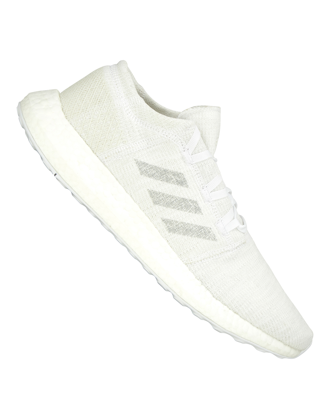 1042b684f6d2b Men s White adidas Pureboost Go