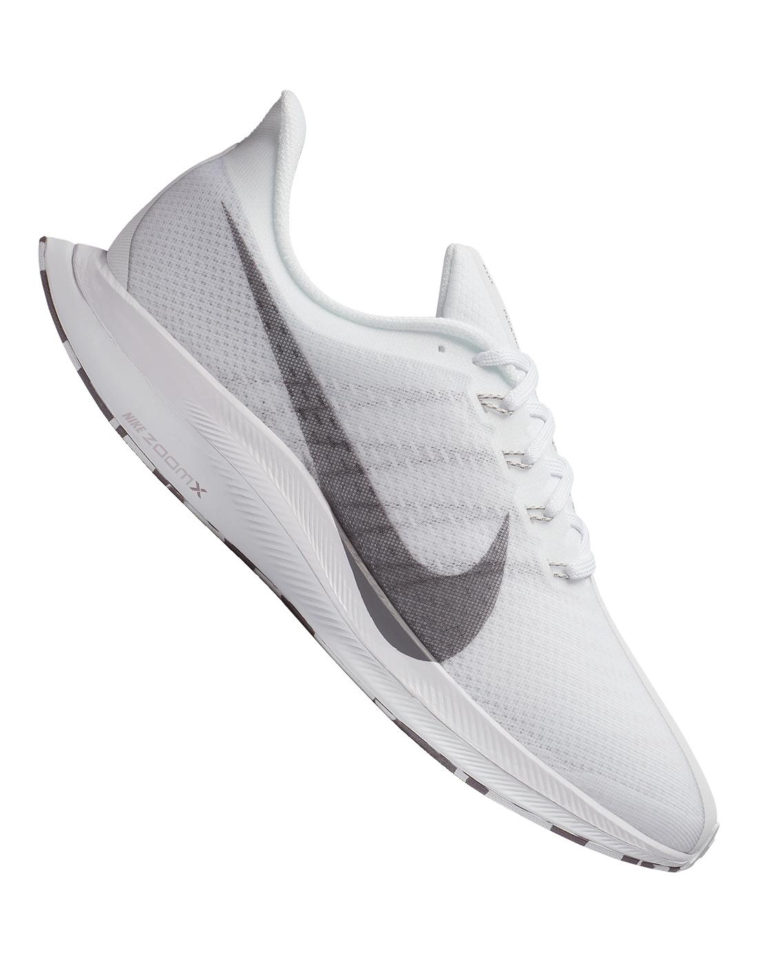 198ca187378d6 Men s White Nike Zoom Pegasus Turbo