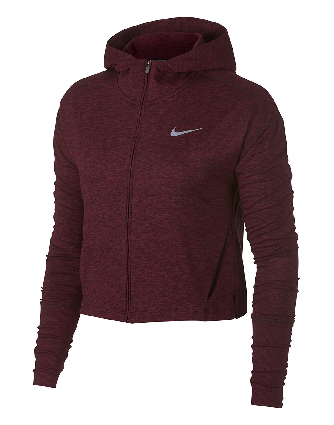 9b0f861e7ea8 Women s Nike Full Zip Running Hoody