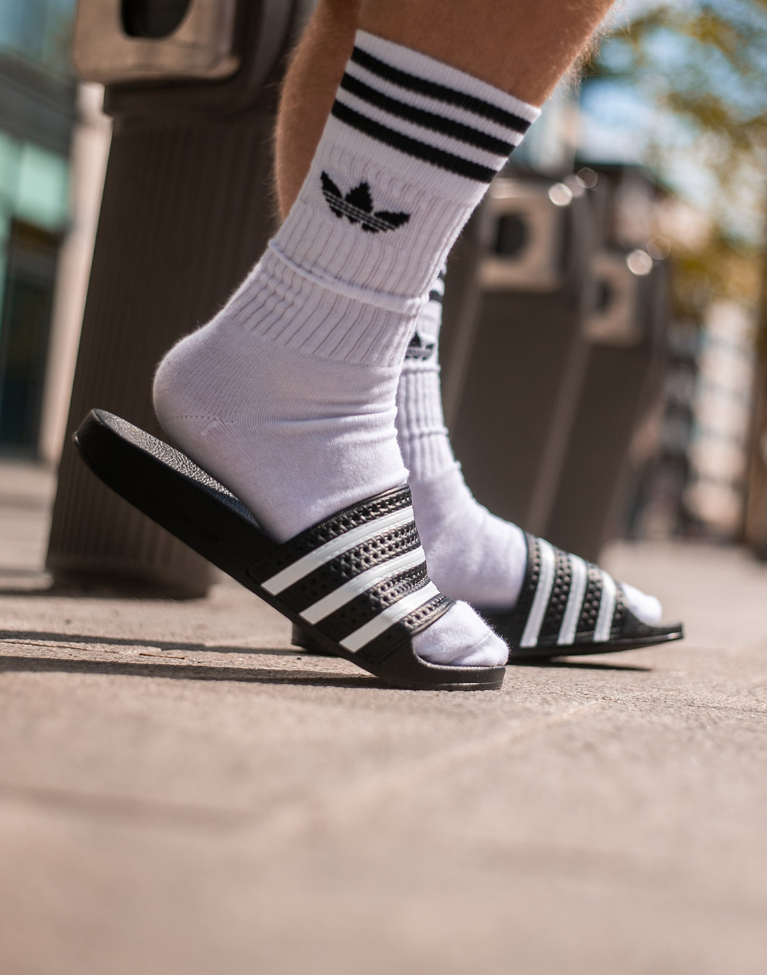new style low priced excellent quality adidas Originals 3 Pack Trefoil Socks