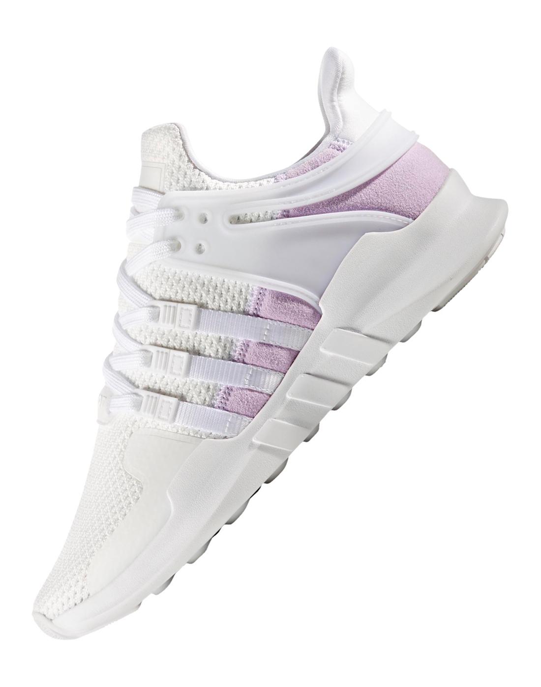 Adidas Originals  mujer EQT de Support ADV blanco estilo de EQT vida deportivo 25d6ed