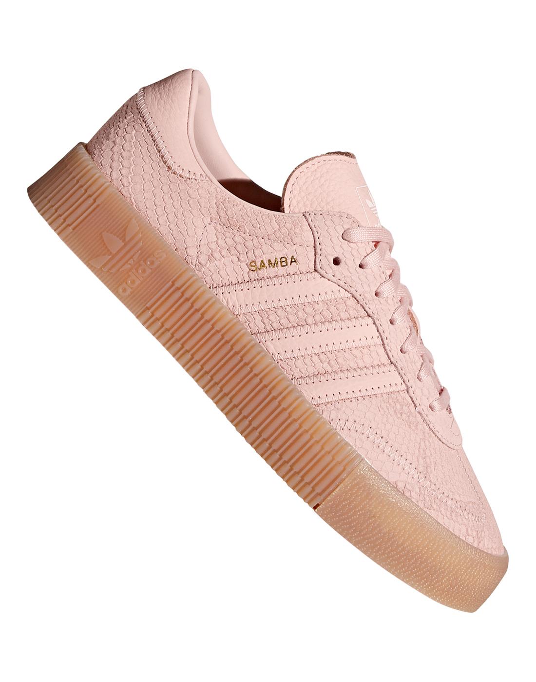 a845c82145f Women's adidas Originals Sambarose   Pink   Life Style Sports