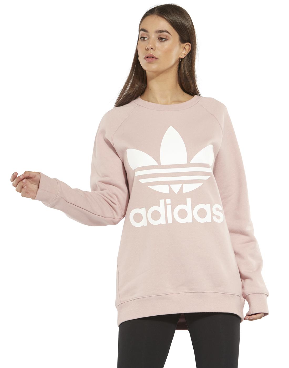 Originals Pink Oversized Style Women's Sports Adidas TopLife 8OZPkNn0wX