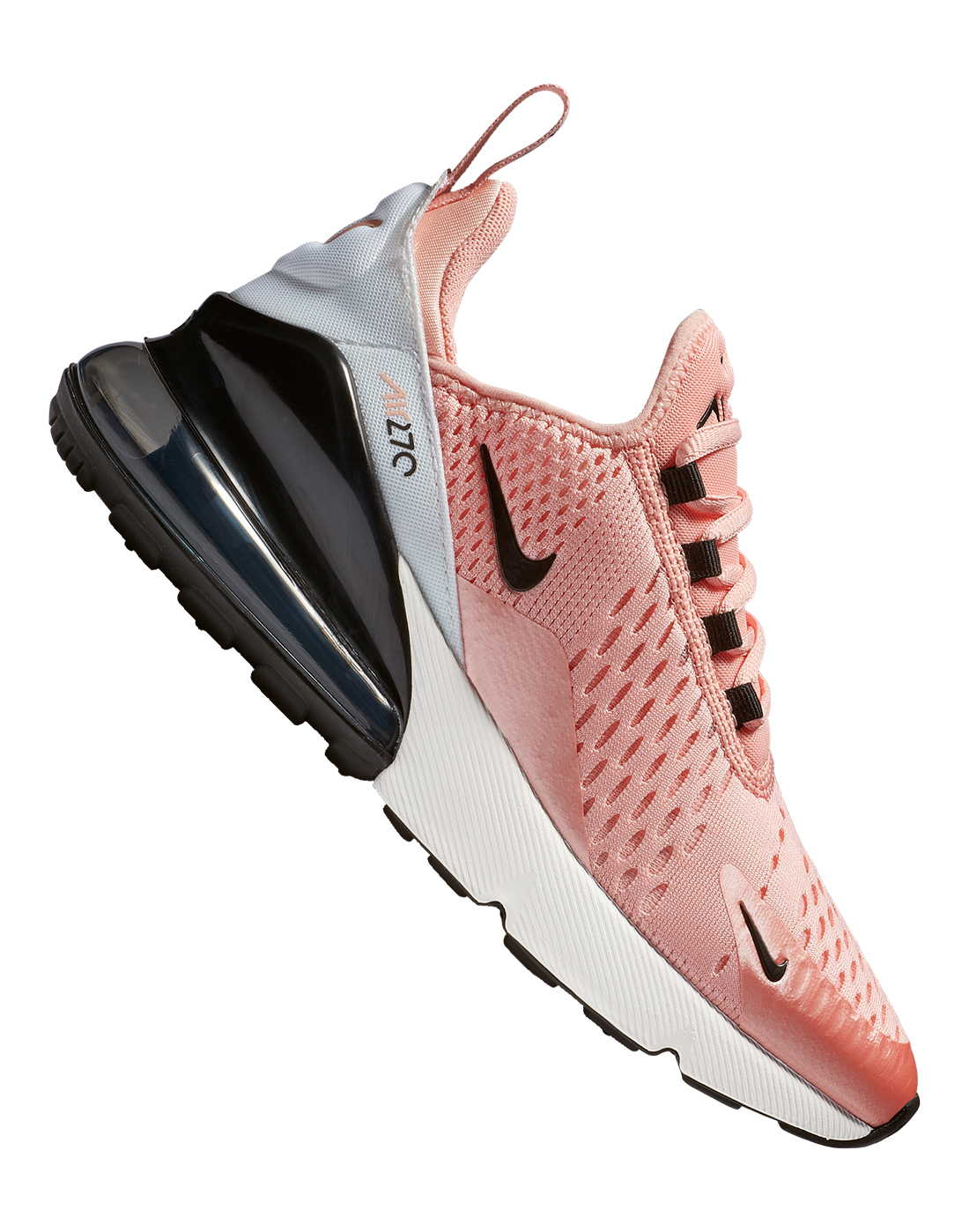 online retailer 7c952 ce61d Girl's Pink & Black Nike Air Max 270 | Life Style Sports