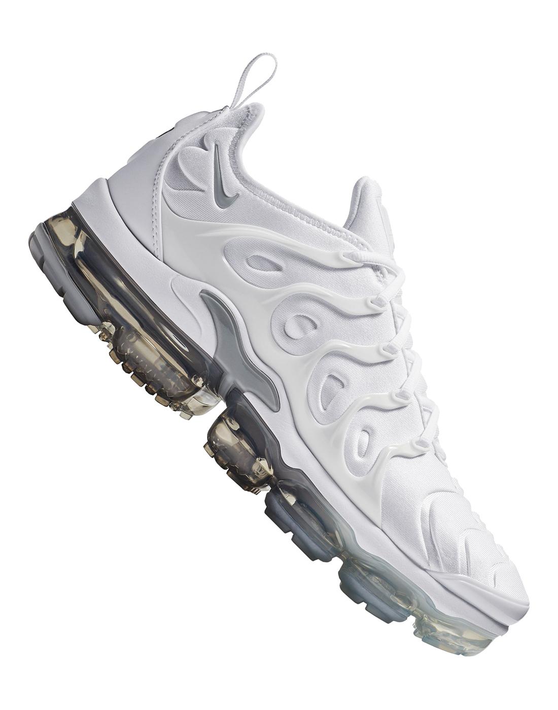 595daa4f594b7e Men s White Nike Air VaporMax Plus