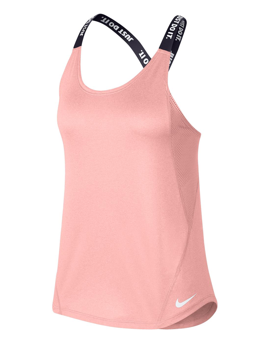 Women s Pink Nike Elastika Tank Top  c3b434a824