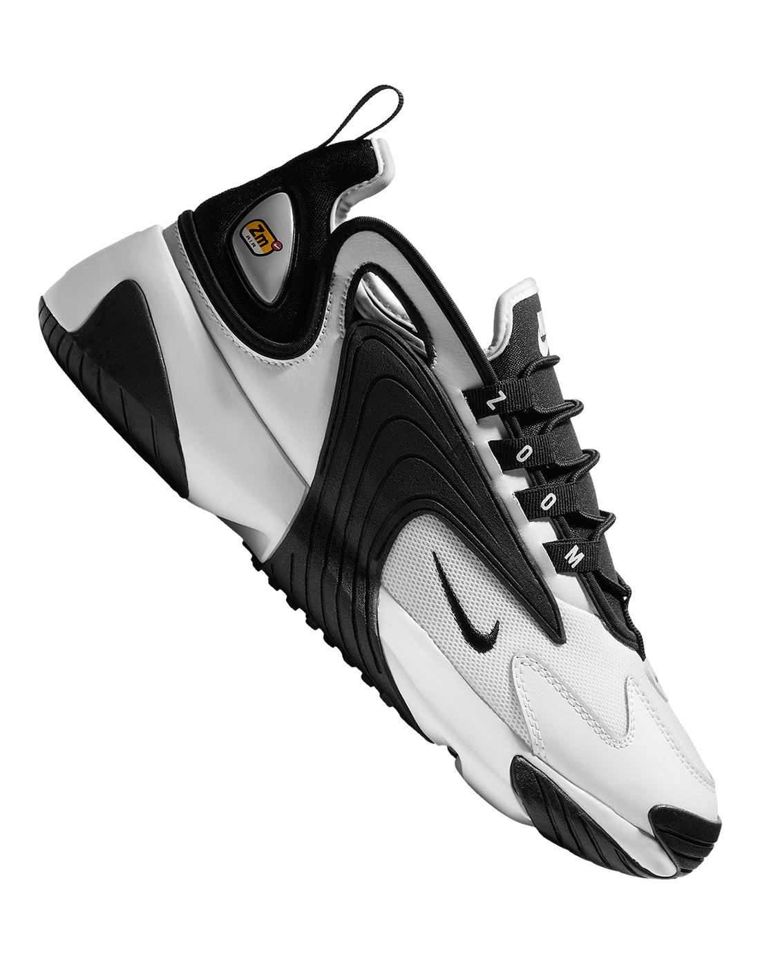 Men S White Black Nike Zoom 2k Life Style Sports