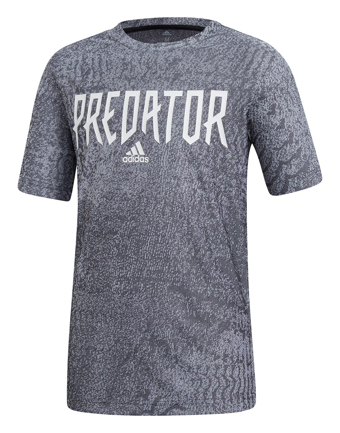 Kid's Grey adidas Predator T-Shirt