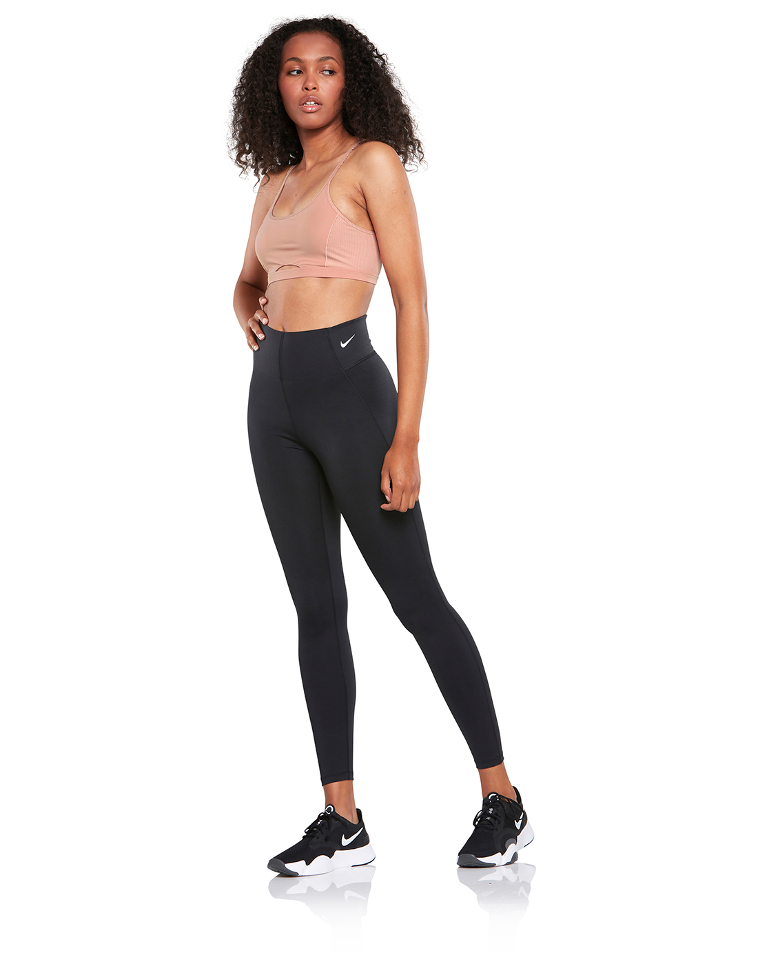 8901709c09203c Women's Black Nike Sculpt Victory Tights   Life Style Sports