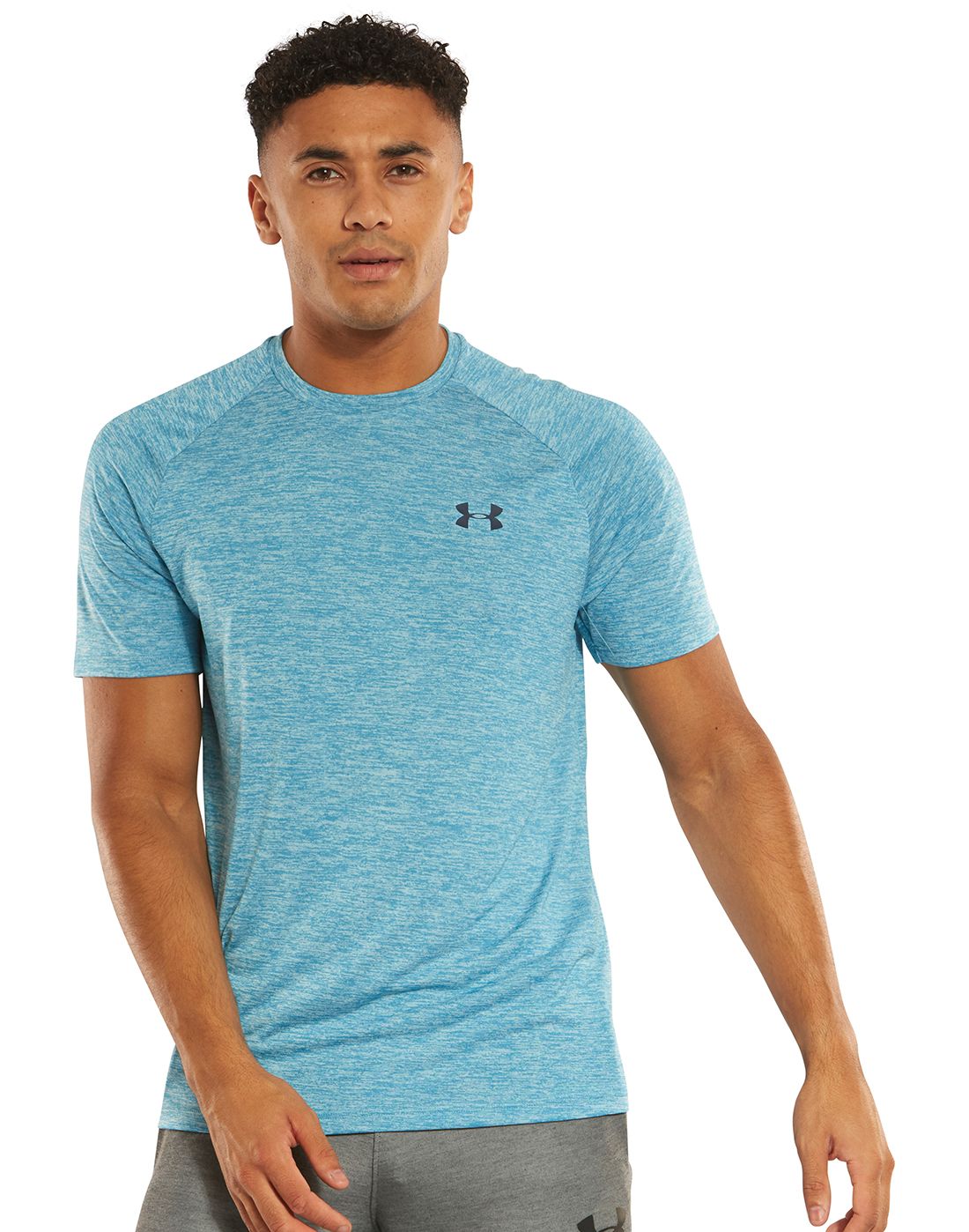 f37b527e Men's Blue Under Armour Gym T-Shirt | Life Style Sports