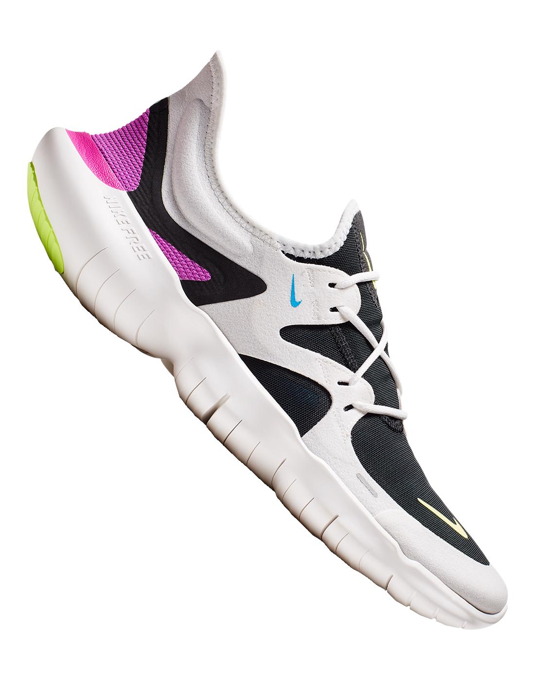 Men's White Nike Free Run 5.0 | Life