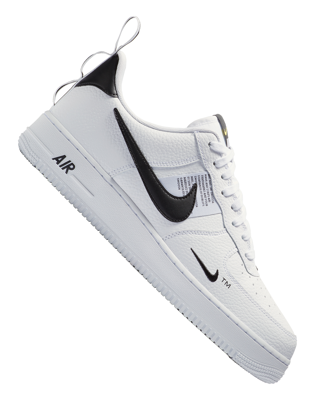 Men s White   Black Nike Air Force 1 Utility  8542e661b