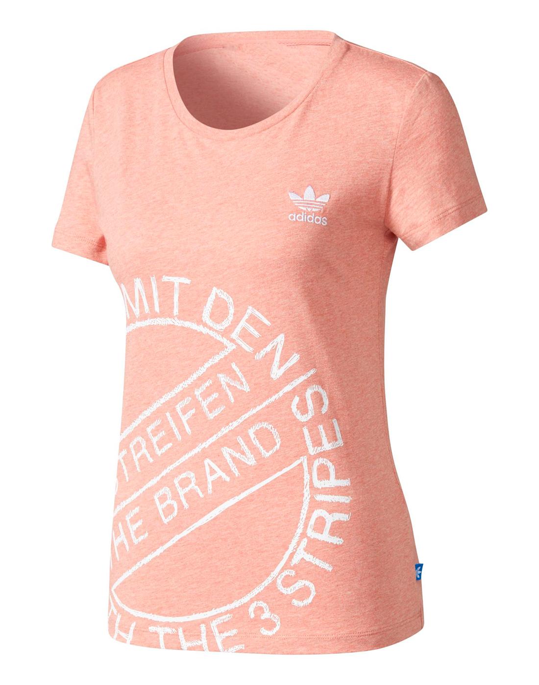 497ee4b8872 adidas Originals Womens T-Shirt | Life Style Sports