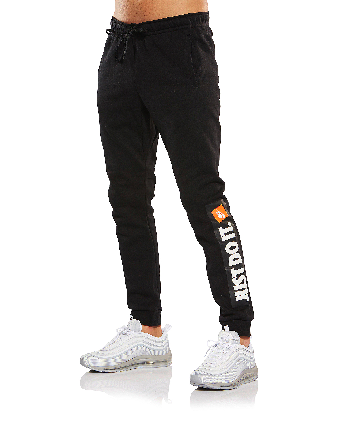f8645a4ef7be Men s Black Nike  Just Do It  Joggers