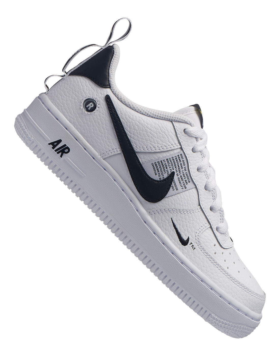Boy's White & Black Nike Air Force 1 | Life Style Sports