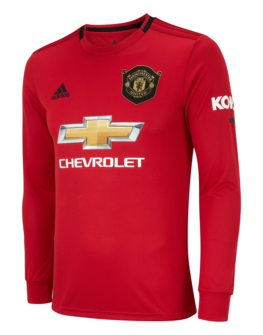 purchase cheap f2a2c aaf84 adidas Adult Man Utd Home 19/20 Jersey LS