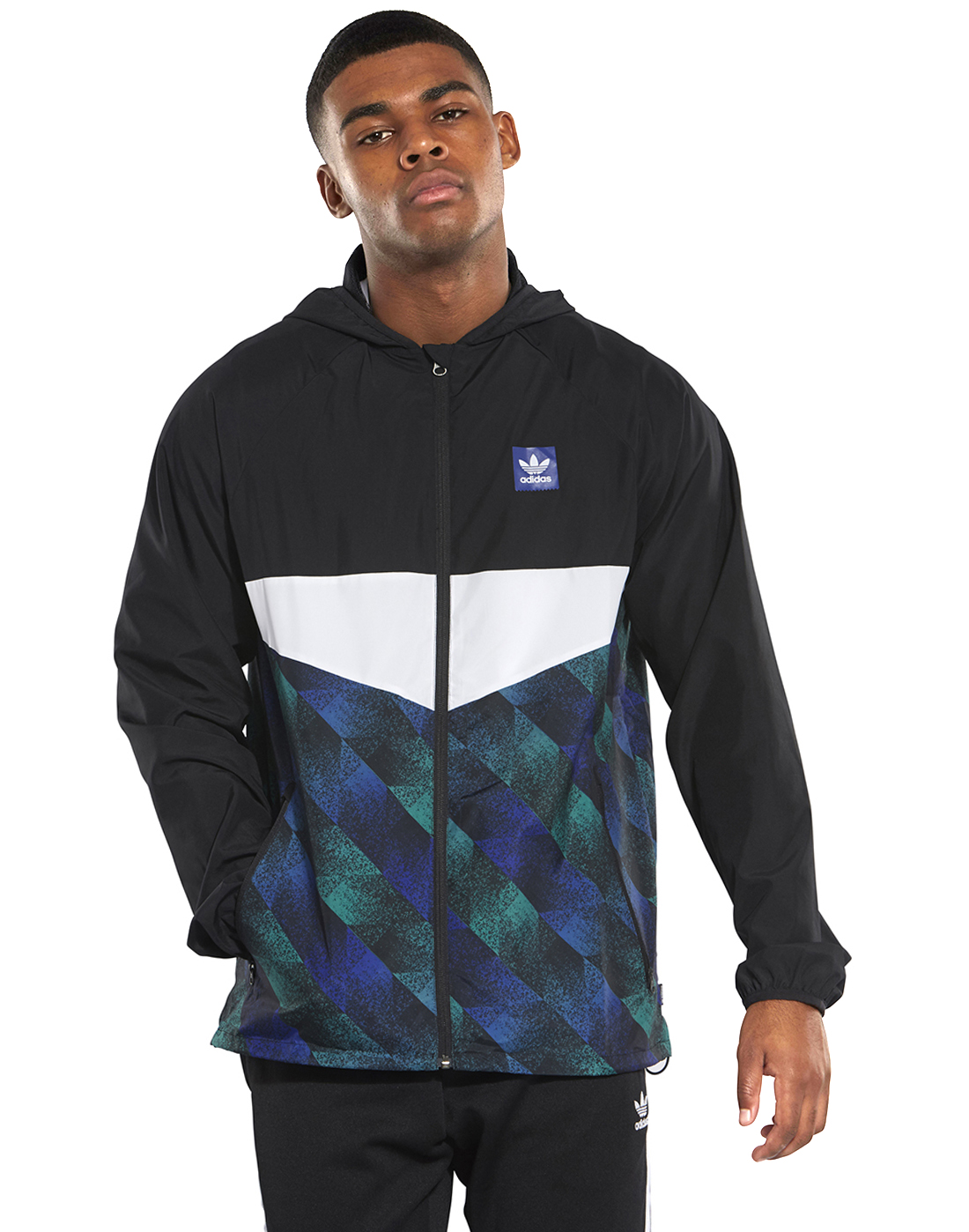 78faf8e8 Men's Black adidas Originals Towning Jacket | Life Style Sports