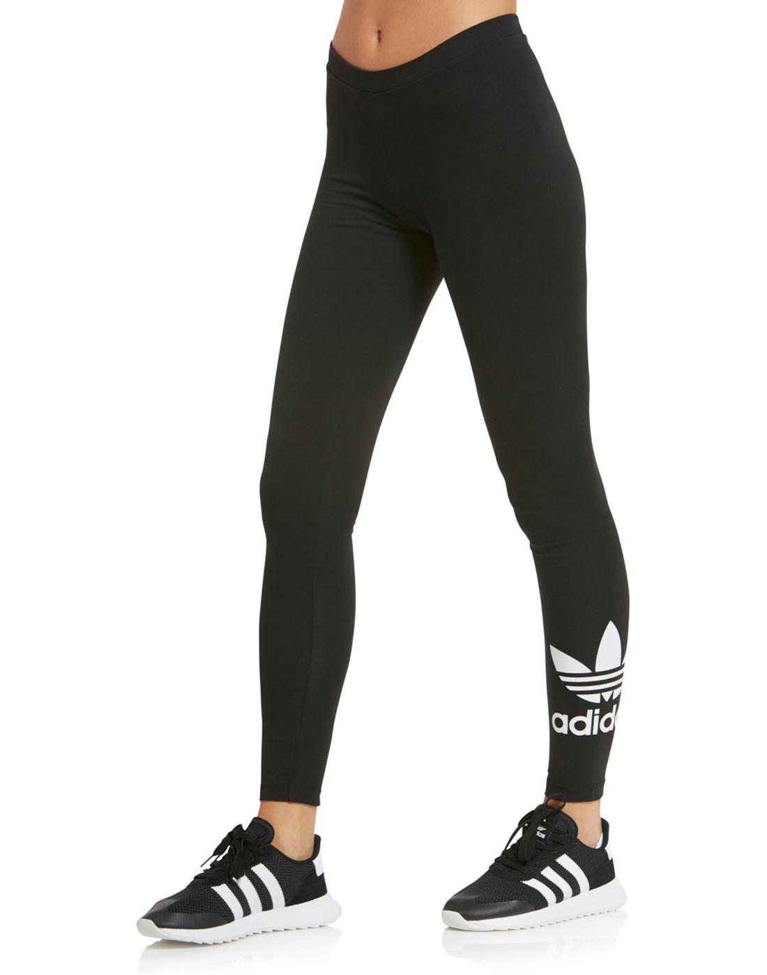 c907b958f adidas Originals Womens Trefoil Legging