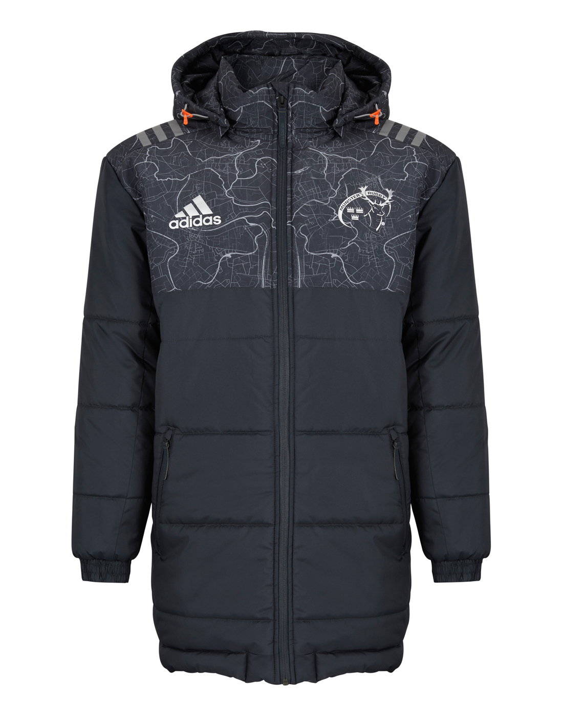 adidas ID Stadium Mens Training Jacket Grey