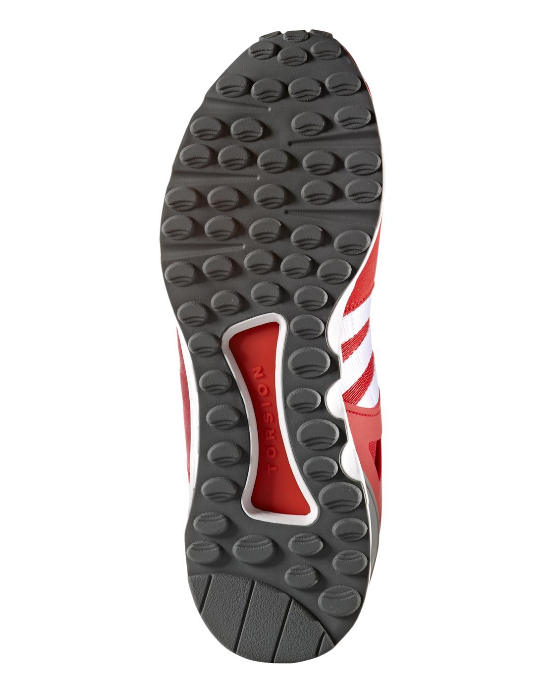 männer adidas originals eqt - rote lebensstil sport unterstützen