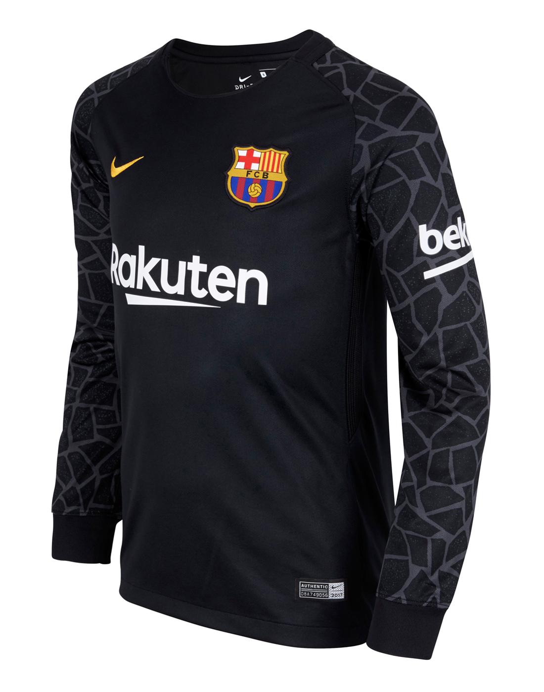 outlet store d3af3 5f62f Nike Kids Barcelona 17/18 Home GK Jersey | Life Style Sports