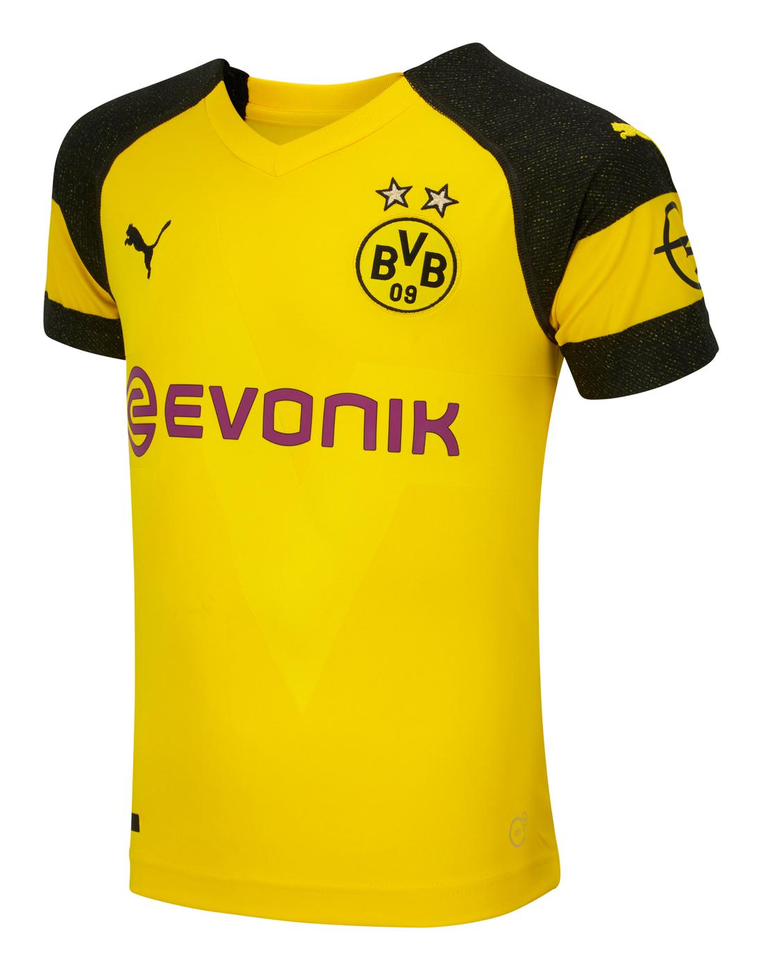 e2c4725cc3b Kids Borussia Dortmund 18/19 Home Jersey | Puma | Life Style Sports
