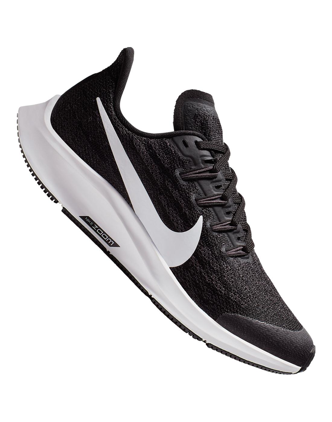 89050c8bf Kid's Black & White Nike Air Zoom Pegasus 36   Life Style Sports