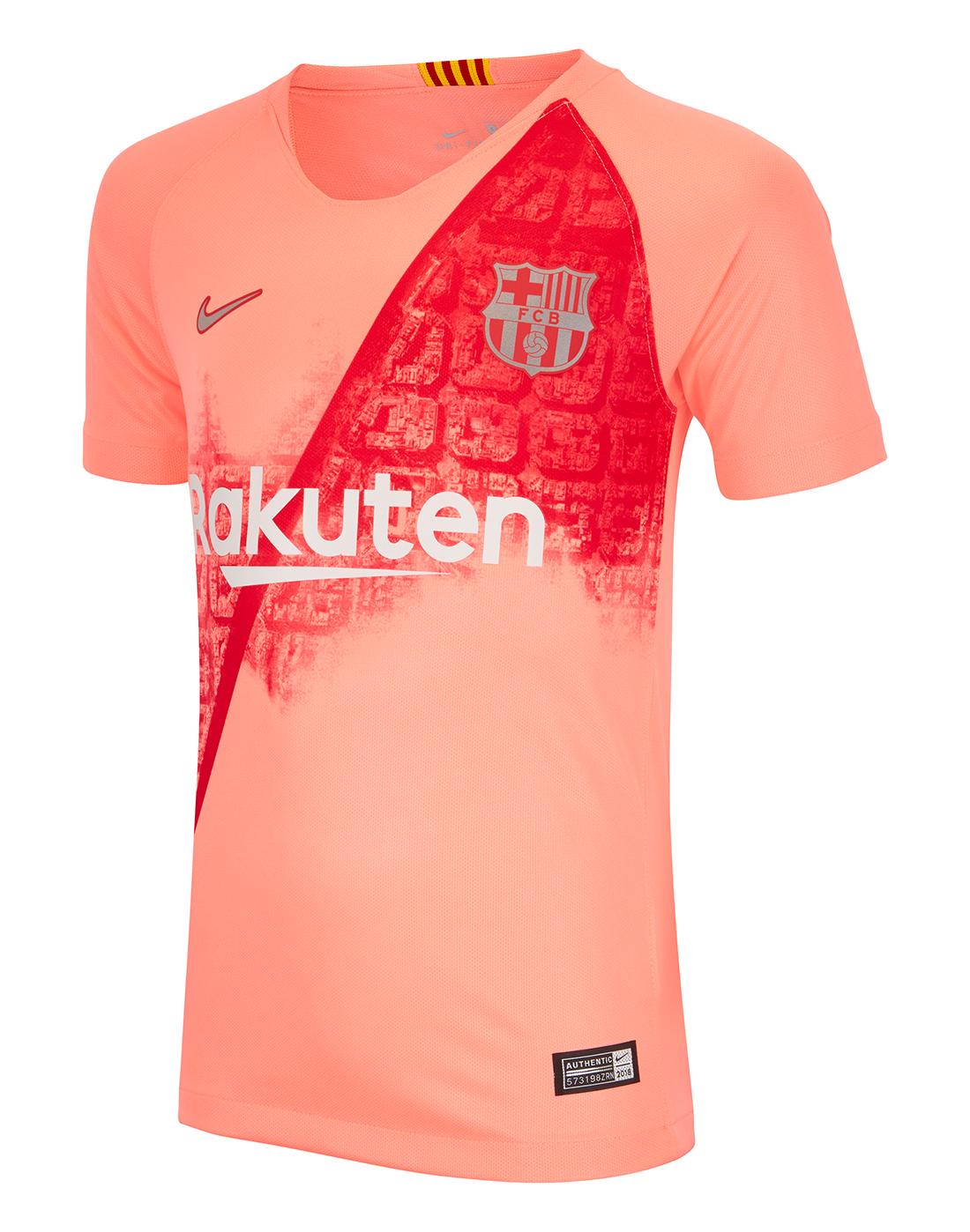 ... Kids Barcelona Third 18 19 Jersey ... a2e2df28d15