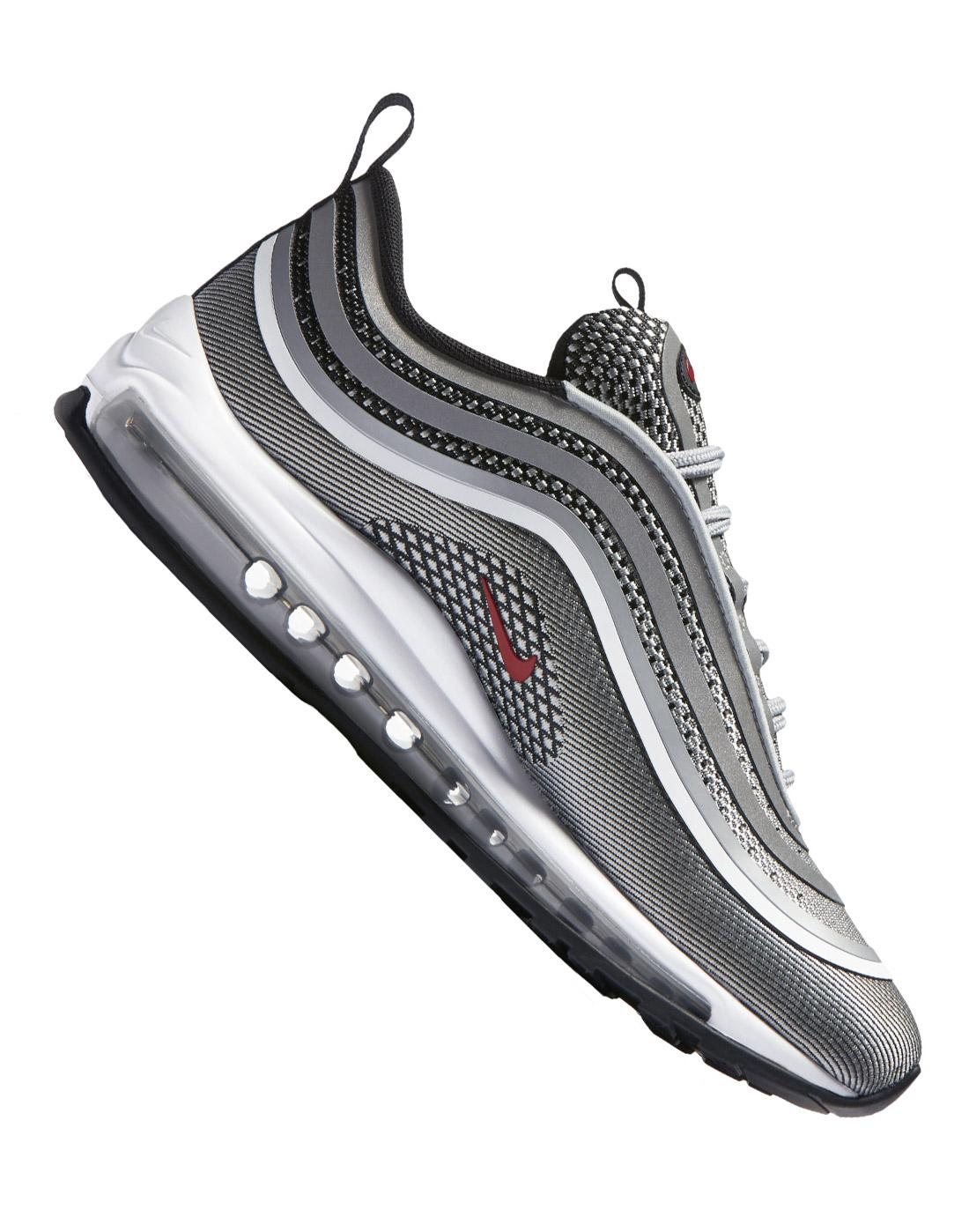 7edeccfe2f3093 Nike Mens Air Max 97 Ultra Silver Bullet