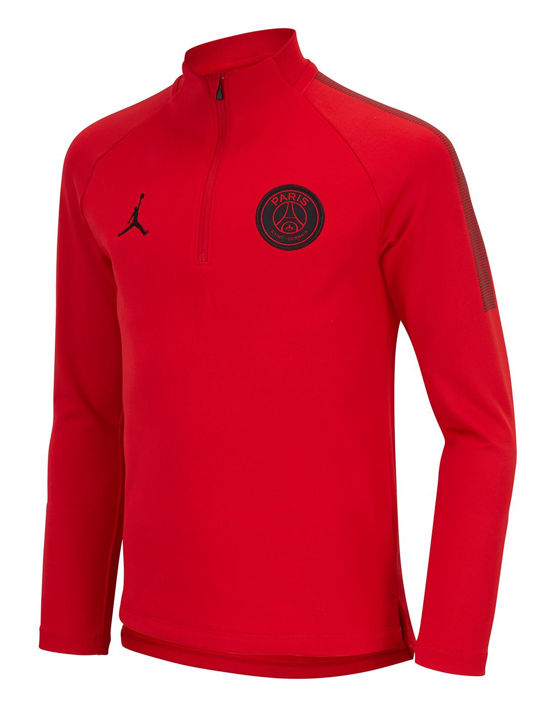 cheap for discount 5cd81 dbd01 Nike Kids PSG Jordan Training 1/4 Zip   Life Style Sports