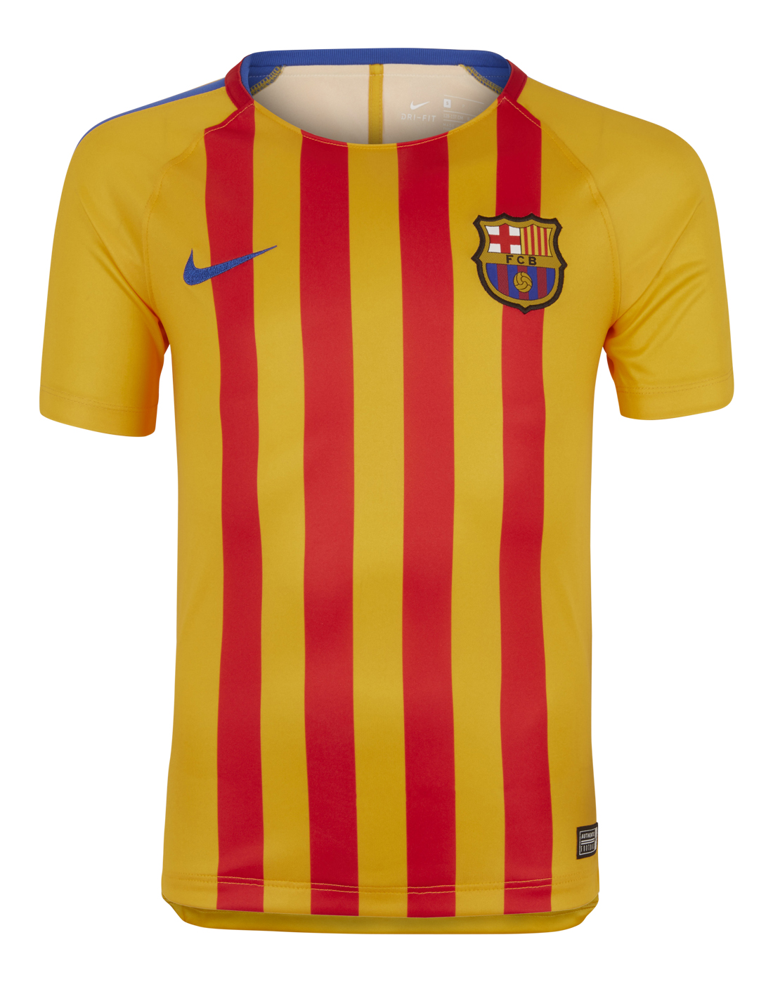 1fe11d1e734 Nike Kids Barcelona 17/18 Training Jersey | Yellow | Life Style Sports