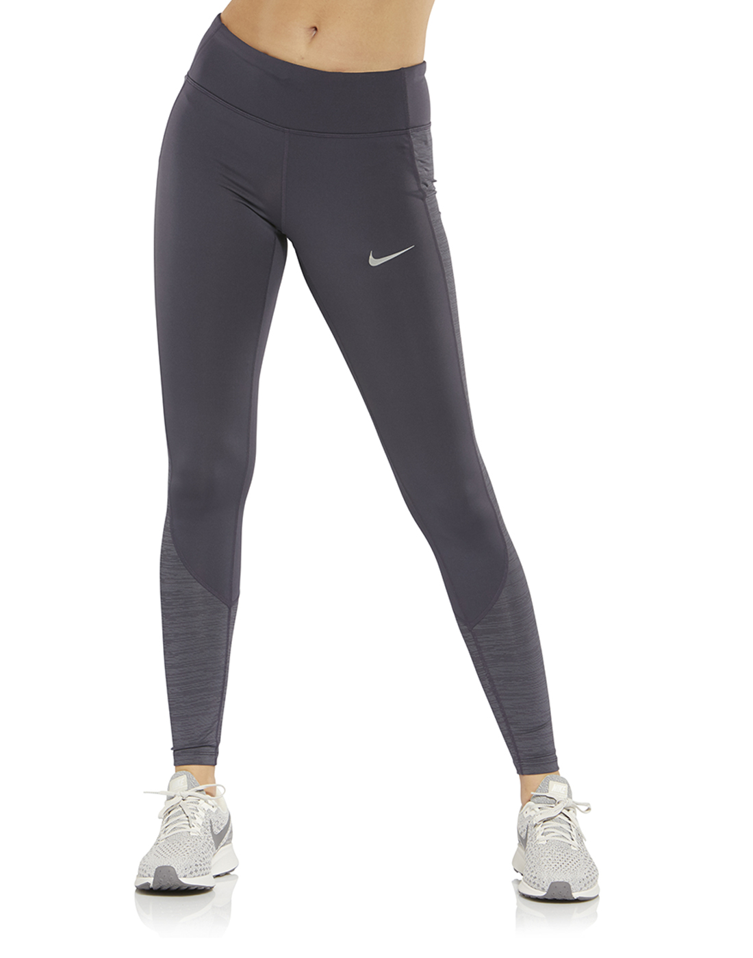 b39f89bab3e0f Women's Grey Nike Running Tights | Life Style Sports