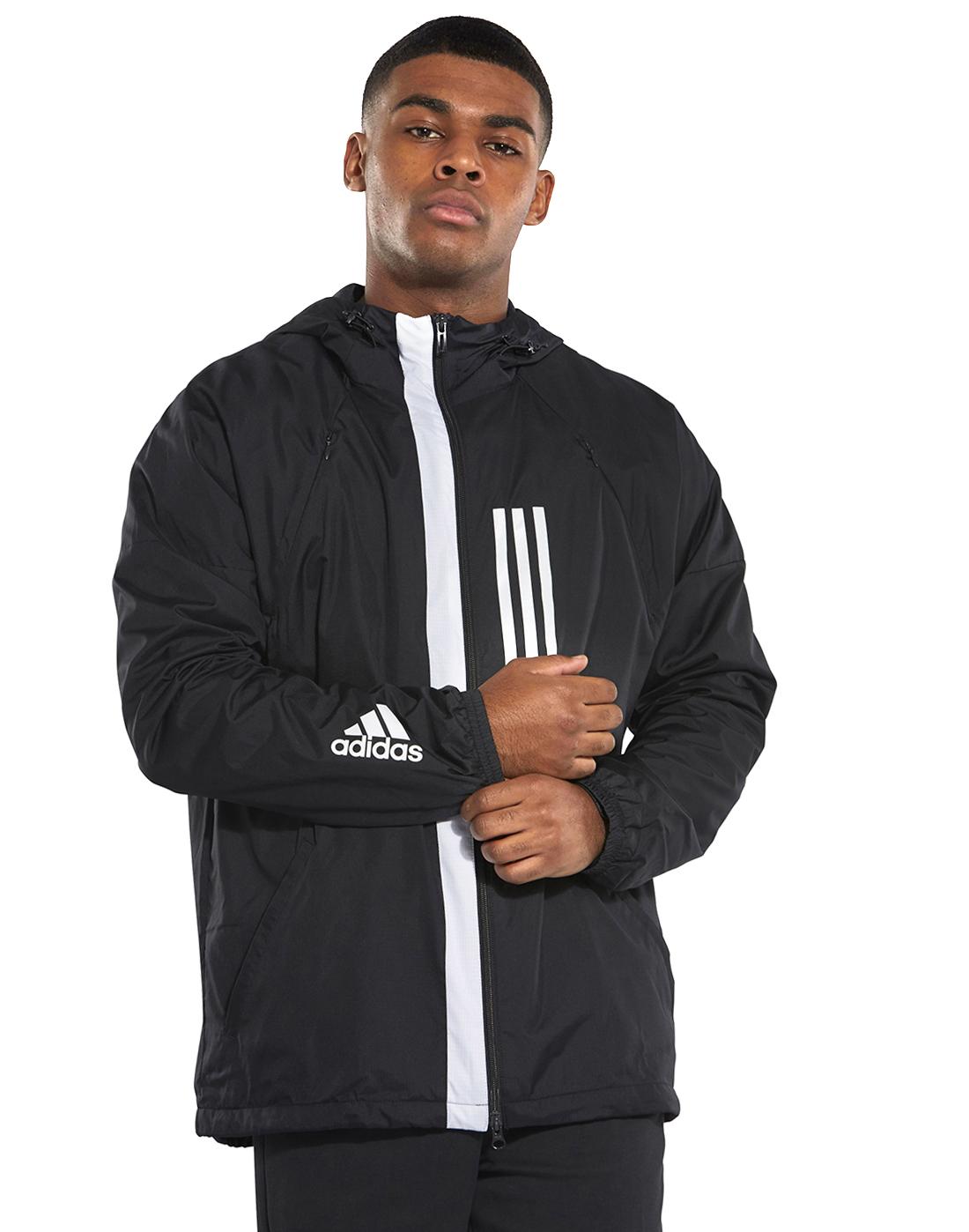 Virus brecha informal  Men's Black adidas WND Jacket | Life Style Sports