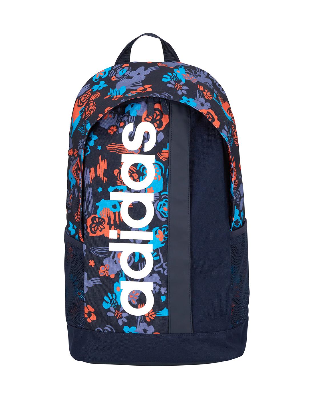 1e70ed9d80a adidas. Linear Floral Print Backpack. Linear Floral Print Backpack ...
